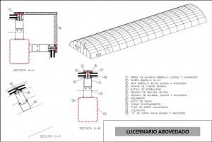 lucernario abovedado