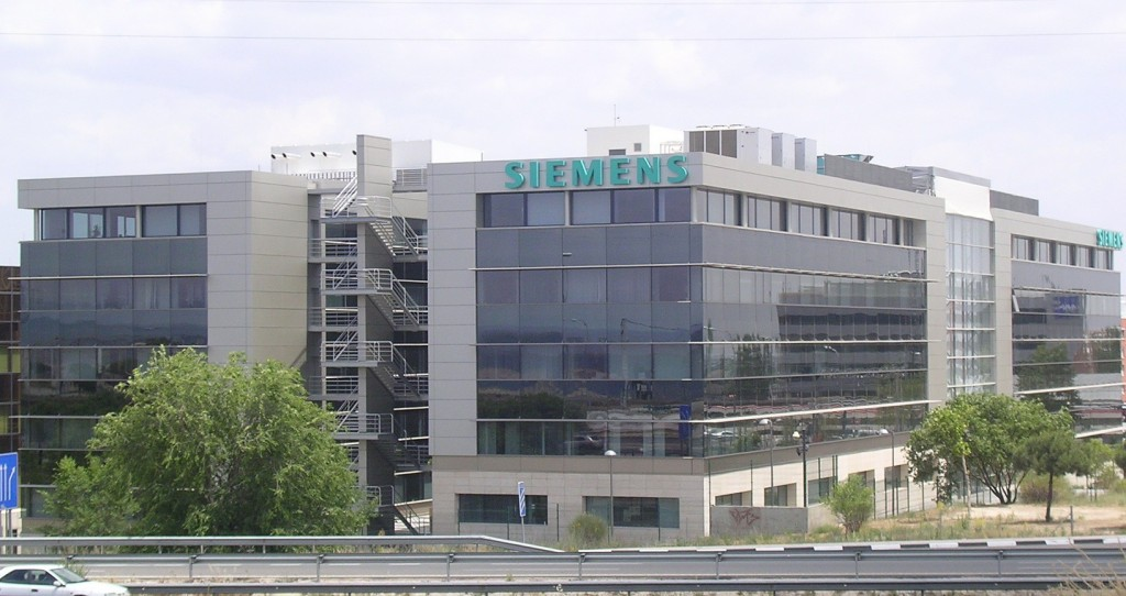 muro cortina oficinas Siemens