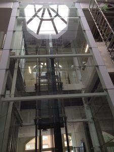 ascensores de vidrio