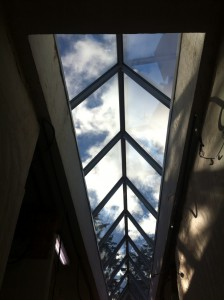 two sides skylight