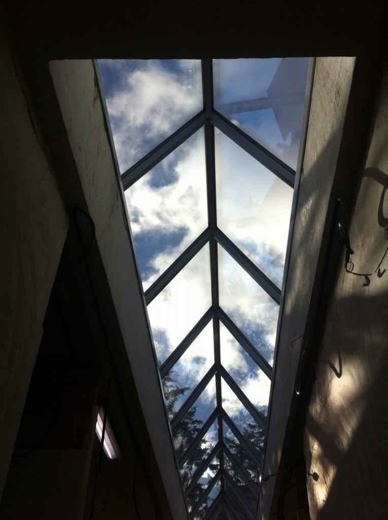 lucernario cristal