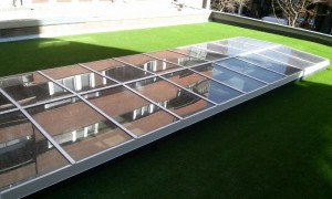 european glass roofs