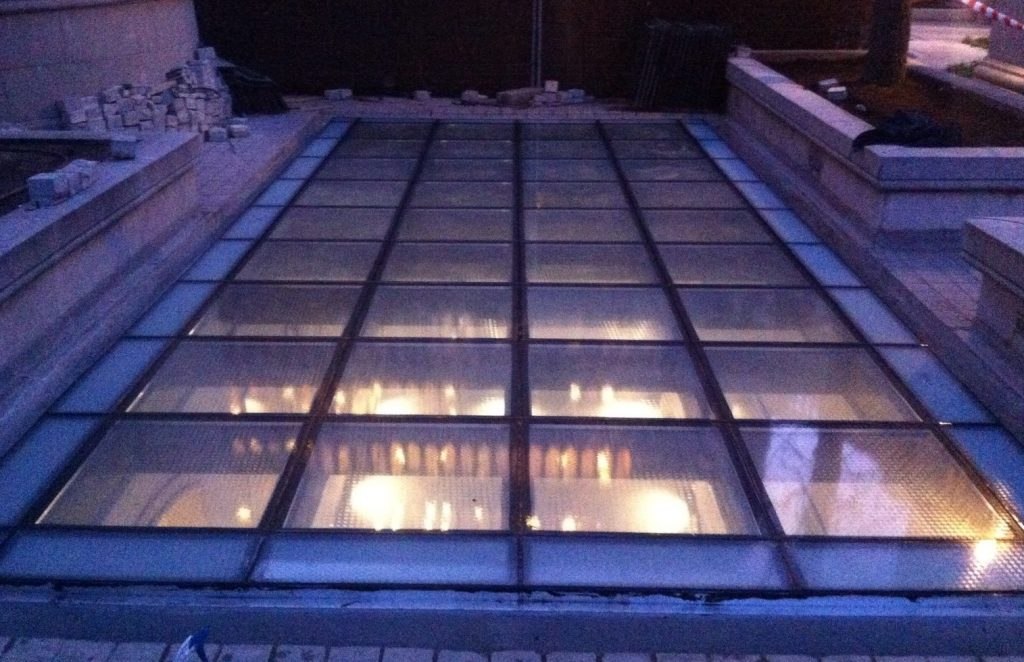 techo cristal