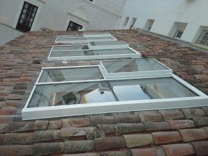 single slope skylight