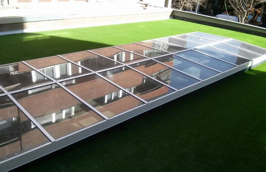 single slope skylight