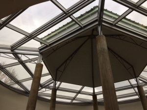 GLASS ROOFS IN SPAIN