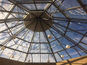 european glass roof