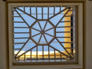 lucernario arquitectonico de vidrio