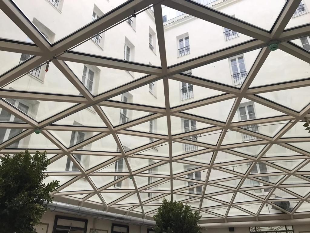 vaulted skylight