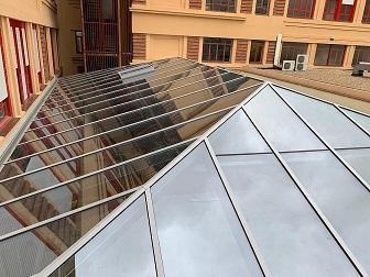 hipped ridge skylight