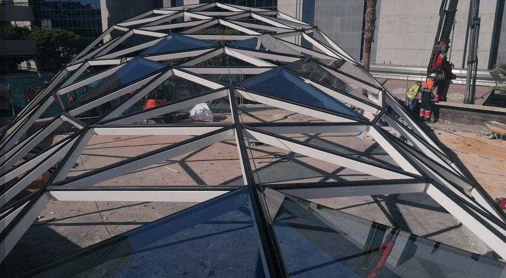 perfileria de aluminio lucernario