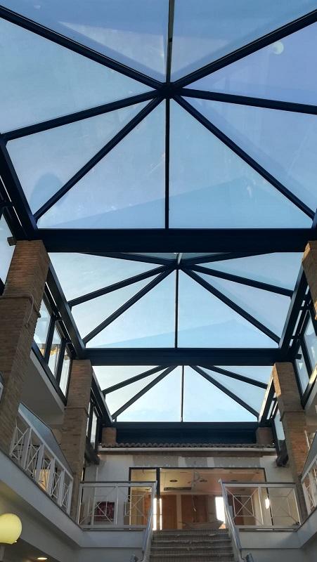 lucernarios en centros educativos