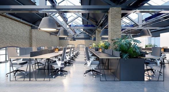 lucernarios en espacios de negocios