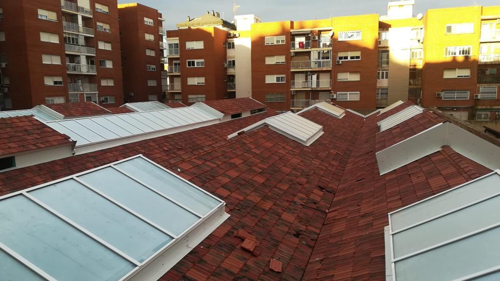 structural ridge skylight