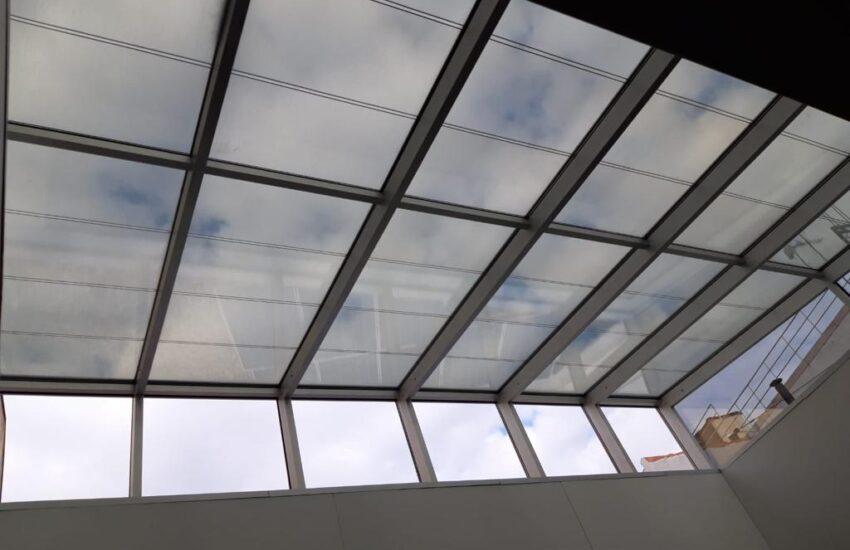 cubierta vidrio fotovoltaico