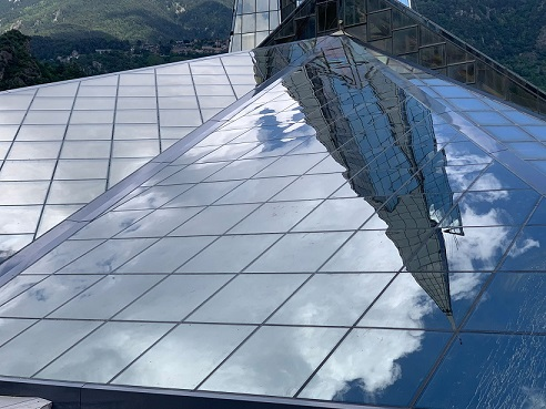 cubiertas vidrio en balnearios